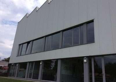 Reiniging van gevel in PVC - Oost-Vlaanderen - na