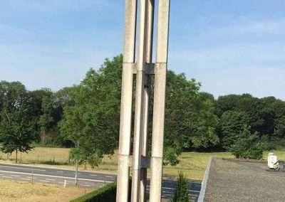 Reinigingswerken - toren Bellegem - Kortrijk - voor